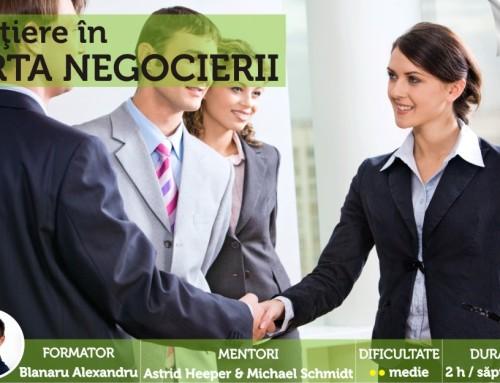 Iniţiere în arta negocierii