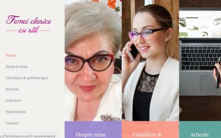 site femeiclasicecustil.ro