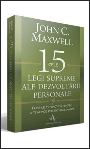 carte cele 15 legi ale dezvoltarii personale